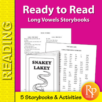 Ready to Read: Long Vowels Storybooks