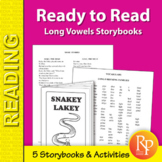 Long Vowel Storybooks for Beginning Readers