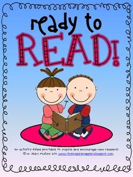 Ready to Read! {Reading Activities for the Beginning of the Year}