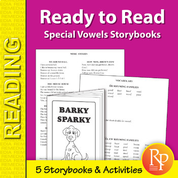 Ready to Read: Special Vowels Storybooks