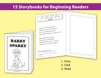 Ready to Read: Vowel Storybooks {Bundle}