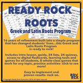 Greek and Latin Roots Complete Program- Ready to Rock!