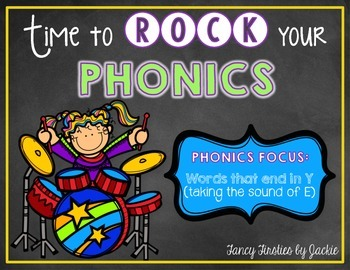 Ready to Rock Phonics {Y sounds like E}