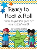 Ready to Rock & Roll: Organizational Forms for a Rockin' good year! UPDATED!