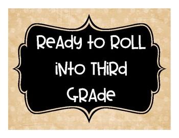 Ready to Roll into Third Grade - Meet the Teacher