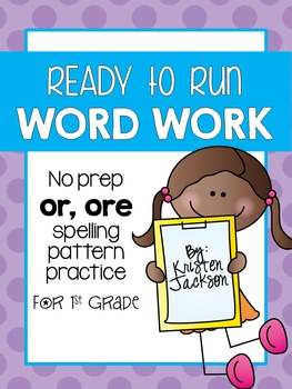 Ready to Run or, ore Word Work