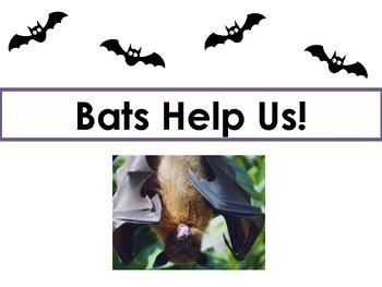 Ready-to-Teach Bat Unit! (5 Lessons)