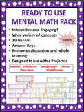 Ready to Use Grade 6 Mental Math
