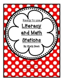 Ready to Use Literacy and Math Stations