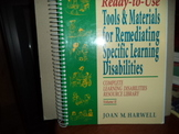 Ready-to-Use Tools & Materials for Remediating Spec.Learn Disabilities