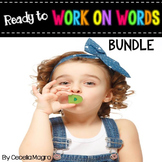 Ready to Work on Words BUNDLE for the Year  1st Grade