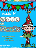 Ready to Work on Words - December Word Work 2nd Grade