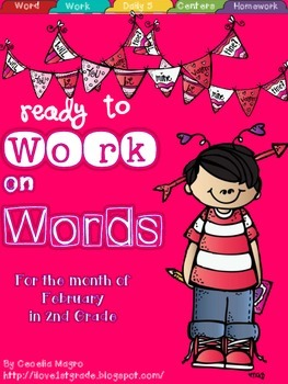 Ready to Work on Words - February - 2nd Grade