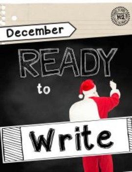 Ready to Write December {Monthly Writing Pages}