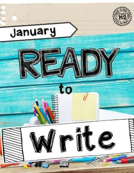Ready to Write January {Monthly Writing Pages}
