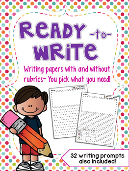 Ready to Write Papers with Rubrics