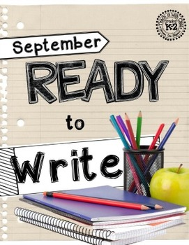 Ready to Write September {Monthly Writing Pages}
