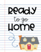 Ready to go Home: Student Work Organization System (EDITABLE)