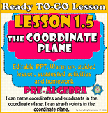 Ready to-go Lesson 1.5 The Coordinate Plane