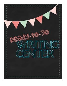 Ready-to-go WRITING CENTER