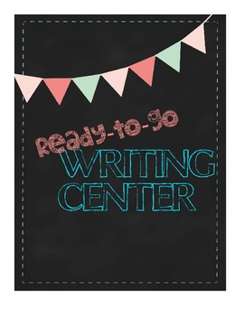Ready-to-go WRITING CENTER