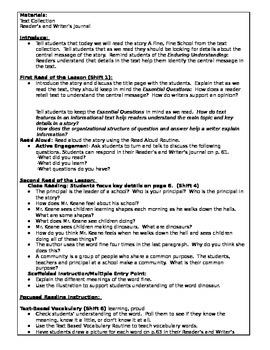 ReadyGEN 1st Grade: Unit 2, Mod. A, Lessons1-7 CCLS/Danielson Aligned - EDITABLE
