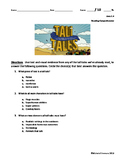 ReadyGEN 2016- 4th Grade- 2.A Tall Tale Assessment