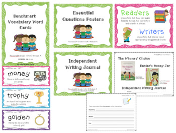 ReadyGEN 2016 Grade 1 Unit 3 Module A Writing Journal **BUNDLE**