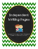 ReadyGEN 2016 Grade 2 Unit 1 Module B Independent Writing Pages