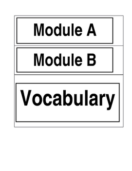 ReadyGEN 2016- Vocabulary Board Cards