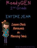 ReadyGEN 2nd Grade Lesson Check, Homework or Morning Work