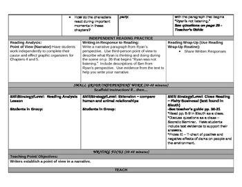 ReadyGEN 5th grade Unit 1A LESSON 3