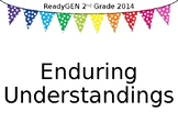 ReadyGEN Enduring Understandings Posters 2nd Grade