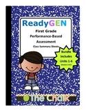 ReadyGEN First Grade Performance-Based Assessment Class Summary Bundle