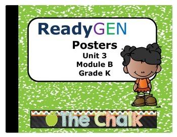 ReadyGEN Kindergarten Unit 3 Module B Posters