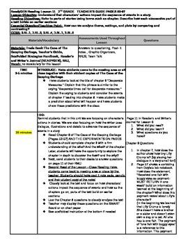 Unit 1 Module A ReadyGEN Lesson 11 Grade 3 The Case of the