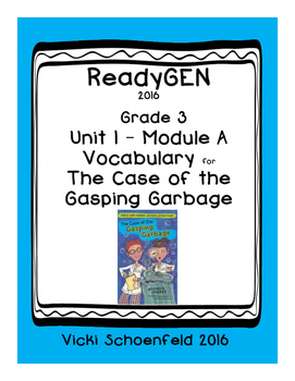 ReadyGEN The Case of the Gasping Garbage Vocabulary