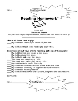 ReadyGEN 2016- 4th Grade- Unit 1.B Reading Homework
