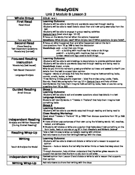 ReadyGEN Unit 2 Module B Lessons 1-12 Kindergarten