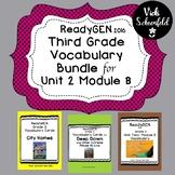 ReadyGEN Grade 3 Unit 2 Module B Vocabulary Bundle Pack