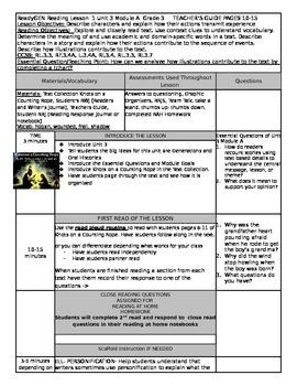 ReadyGEN Unit 3 Module A Lesson 1 Grade 3
