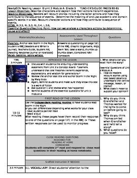 ReadyGEN Unit 3 Module A Lesson 8 Grade 3