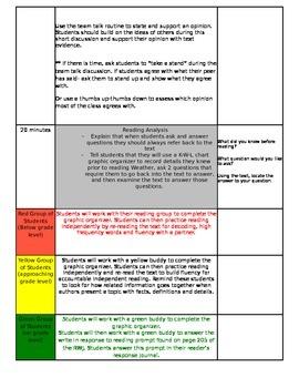 ReadyGEN Unit 3 Module B Lesson 1 Grade 3 Weather
