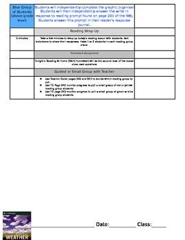 ReadyGEN Unit 3 Module B Lesson 4 Grade 3 Weather