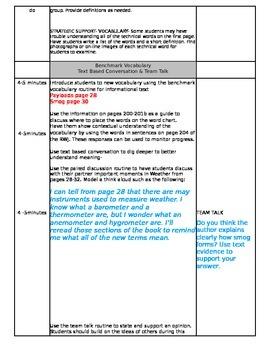 ReadyGEN Unit 3 Module B Lesson 5 Grade 3 Weather