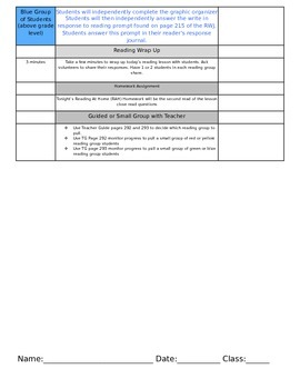 ReadyGEN Unit 3 Module B Lesson 9 Grade 3 On the Same Day in March