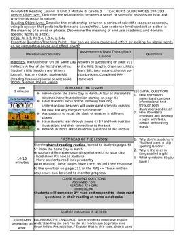 ReadyGEN Unit 3 Module B Lesson 9 Grade 3 On the Same Day