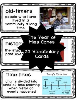 ReadyGEN Vocabulary Bundle Grade 3 Unit 2 Module A