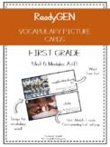 ReadyGEN Vocabulary Cards First Grade Unit 6