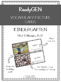 ReadyGEN Vocabulary Cards Kindergarten Unit 6